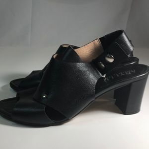 Anyi Lu Shoes - Women's size 11 Anyi Lu handmade leather slippers